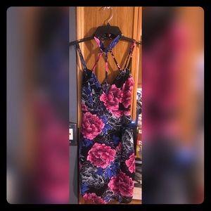 Charlotte Russ Floral Dress